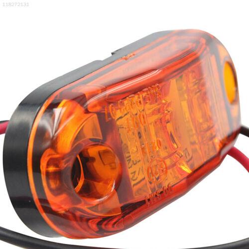 CC22 2LED 12V 24V Marker Light Side Light Indicator Light Bus Lorries Lamp LED