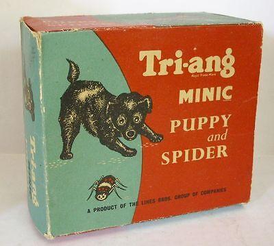 Gelernt Repro Box Triang Minic,puppy And Spider Kunden Zuerst Blechspielzeug Figuren