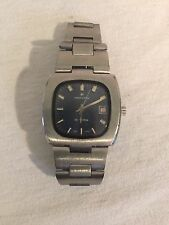 Vintage Hamilton Stainless Steel W/Date Working Wrist Watch retro 60's 70's