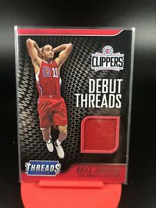 2016-17-Panini-Threads-Brice-Johnson-Debut-Threads-Patch-Clippers