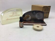 Vintage Reynolds Industries Inc Rencrest Tape Writer With Box