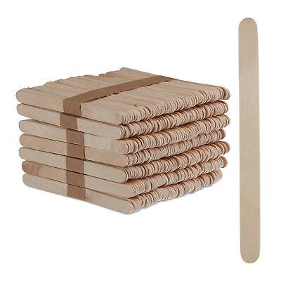Eisstiele Holz 500 Stück Eis Holzstäbchen Eisholzstiele Holzspatel Bastelstäbe