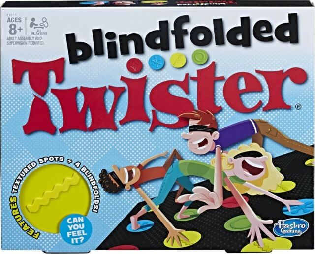 NEW Blindfolded Twister from Mr Toys