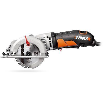 "WX429L WORX 4-1/2"" WORXSAW Compact Circular Saw"