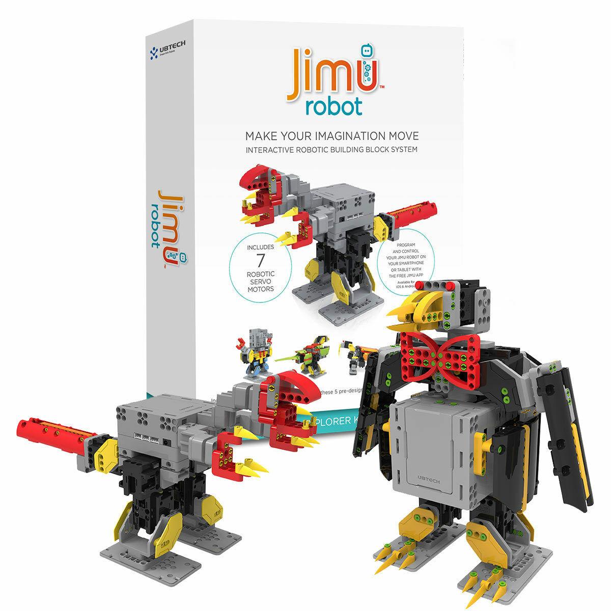 UBTECH Jimu Robot Mini & Explorer Kit (8+ Years)FREE & FAST DELIVERY