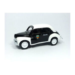 Norev-319251-Renault-4-034-Policia-034-Blanco-Negro-Multigam-Classic-1-54-Neu
