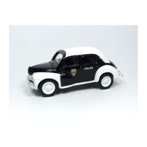 """Multigam Classic 1:54 Neu !° Norev 319251 Renault 4 /""""Policía/"""" Blanco Negro"""