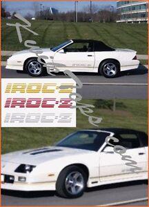 Image Is Loading 1989 1992 Chevrolet Chevy Camaro Iroc Convertible Top