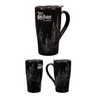 Universal Studios Wizarding Harry Potter Hogwarts Castle Sketch Travel Mug