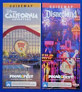 Disneyland And California Adventure Pixar Fest Summer 2018 Guide Map