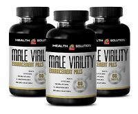 Catuaba - Male Virility Male Extender Enlargement Virility Pills 3 Bottles