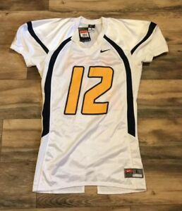 d8c8c07cf Image is loading West-Virginia-Mountaineers-Nike-Pro-Cut-Football-Jersey-