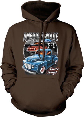 American Made Ford F-1 Built Tough Classic Pickup Truck Hoodie Pullover
