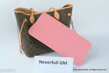 BASE SHAPER LINNER INSERT MADE FOR DAMIER NEVERFULL GM STYLE BAGS IN PINK COLOR