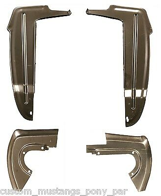 Ford Mustang Upper Trunk Corner Right Gusset Coupe Convertible 1964 1965 1966 66