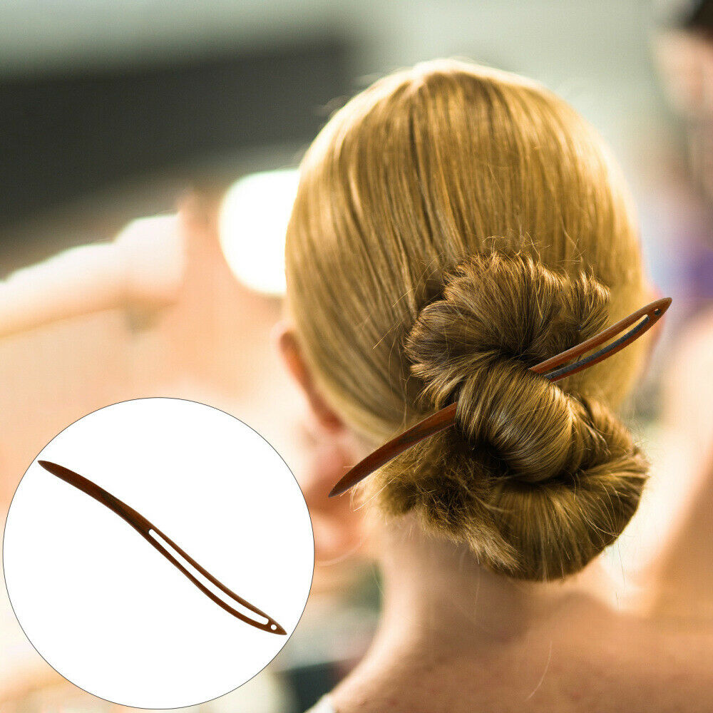 1pc Hair Chopstick Ebony Hair Stick Simple Hairpin Classical Hairpin for Girl