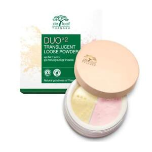 De-Leaf-Thanaka-Duo-x2-Translucent-2-in1-Loose-Powder-Oil-Control-And-Gentle-15g