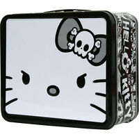Hello Kitty Metal Tin Lunch Box Angry Giant Face Carrier Toys