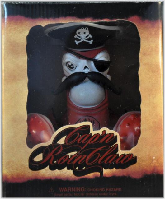 "NIB Greg ""Craola"" SIMKINS Cap'N Rotnclaw by Strangeco 7"" qee dunny TOY Orig 2008"