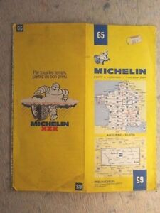 Image is loading Michelin-Map-65-Auxerre-Dijon-1-200-000-