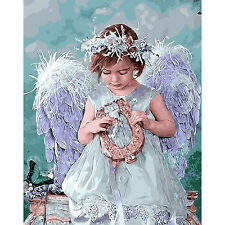 5D DIY Diamond Painting Angel girl Embroidery Cross Crafts Stitch Home Decor