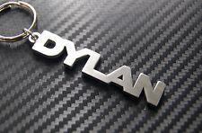 DYLAN nom personnalisé Porte-clé porte-clé Sur-mesure Acier Inoxydable Cadeau