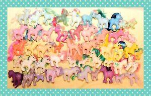 ❤️My Little Pony MLP G1 Vtg Custom Bait TLC Lot 50 Ponies Tic Tac Toe 1980's❤️