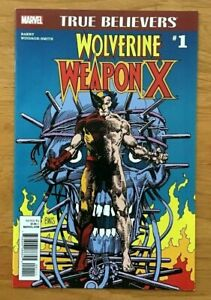 True-Believers-Wolverine-Weapon-X-1-Barry-Windsor-Smith-Main-Cover-Marvel-NM