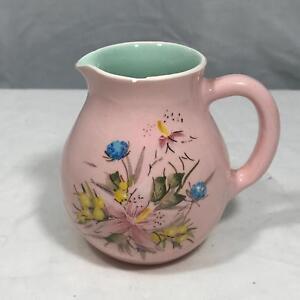 Guy-Boyd-Pink-Floral-Vintage-Creamer-Pitcher-4-034