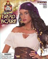 Gypsy Fortune Teller Head Scarf Costume Accessory
