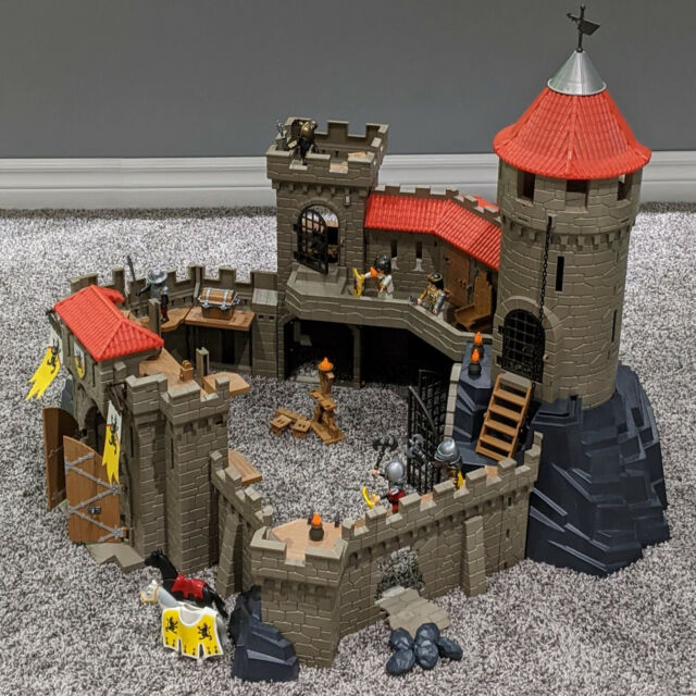 Playmobil Lion Knights Castle 4865 Figures & Accessories Incomplete Fun Playset