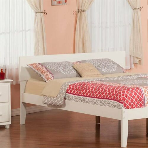 Leo /& Lacey Queen Panel Headboard in White