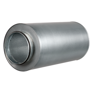 Large Insulated Metal Acoustic Fan Ducting Silencer Extraction Noise Dampening