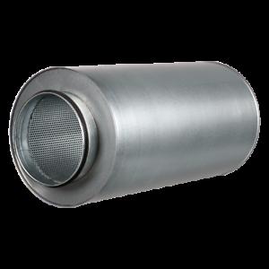 Ducting Silencer Noise Reduction Acoustic Ventilation Fan Solid Muffler Ebay