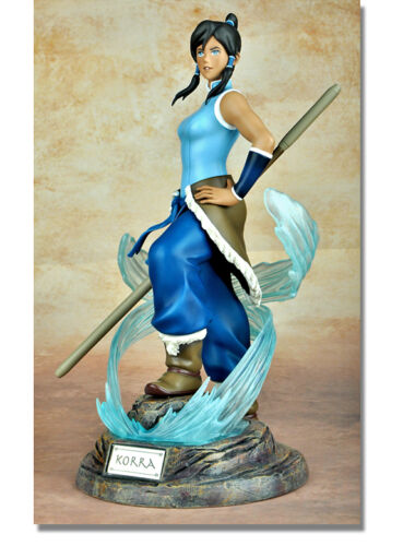 LEGEND OF KORRA Avatar Korra Collector Official Licensed Figure PVC Statue