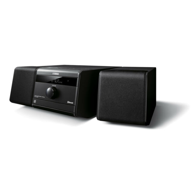 Yamaha Compact Stereo System with CD player, AM/FM Radio, Bluetooth, USB Aux-In