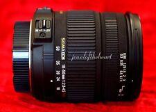 Exc Sigma 18-50mm DC HSM OS Zoom Lens w/Hood for Nikon D40 D60 D3200 D5000 D5200