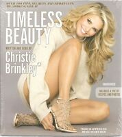 Timeless Beauty Christie Brinkley Sealed Unabridged Cds Audio Book Tips Secrets