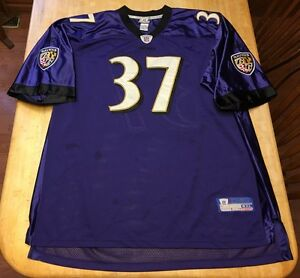 Image is loading RARE-Mens-Baltimore-Ravens-Deion-Sanders-Reebok-STITCHED- d50f2a144