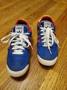 Adidas Dragon Shoes Dragons Blue Red Men's US 7 women's 8.5 ...