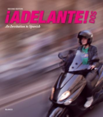 Adelante Dos Student 2nd Edition 2 by Jose A. Blanco (2014, Paperback, Revised)