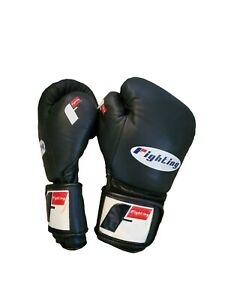 Woldorf USA Boxing Bag Gloves Sparring MMA Fighting Kickboxing Muay Thai Black