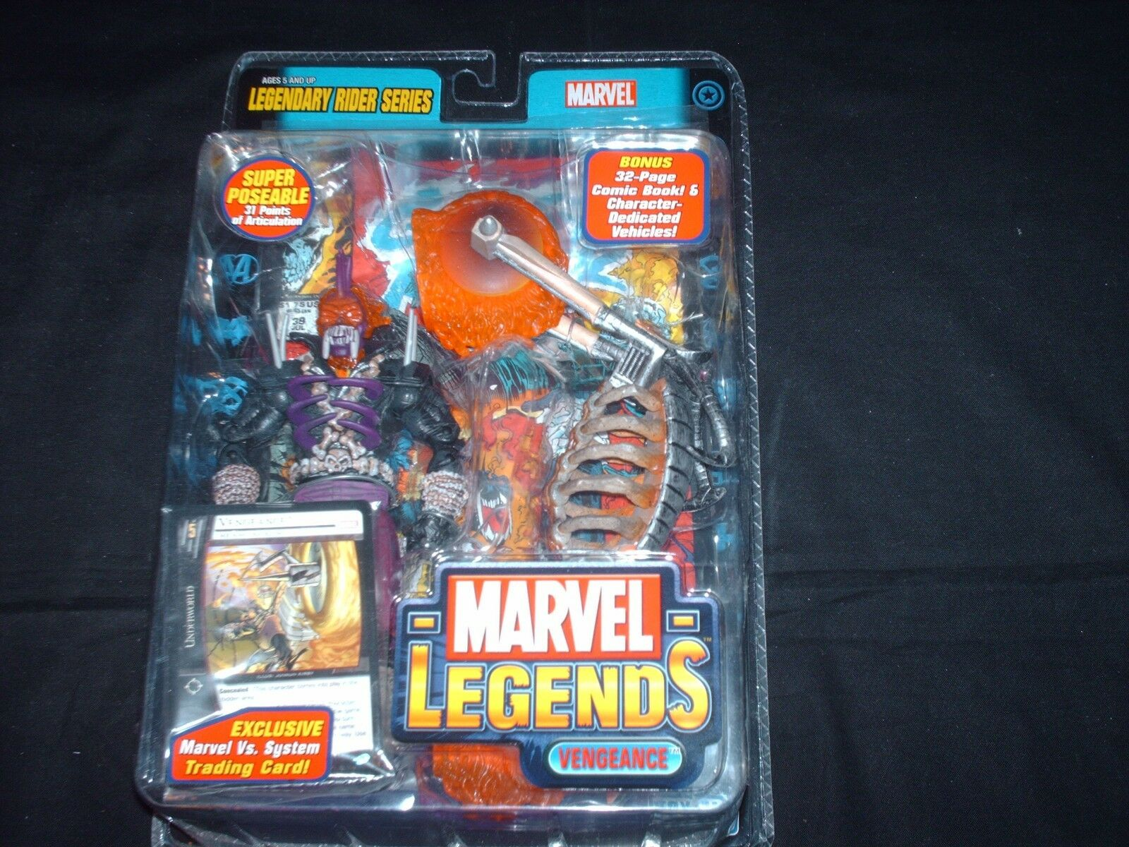 Ghost Rider Vengeance viola Phase Variant 6 inch Marvel Legends figure MOC OOP