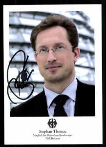 Preiswert Kaufen Stefan Thomae Autogrammkarte Original Signiert ## 38723 Original, Nicht Zertifiziert