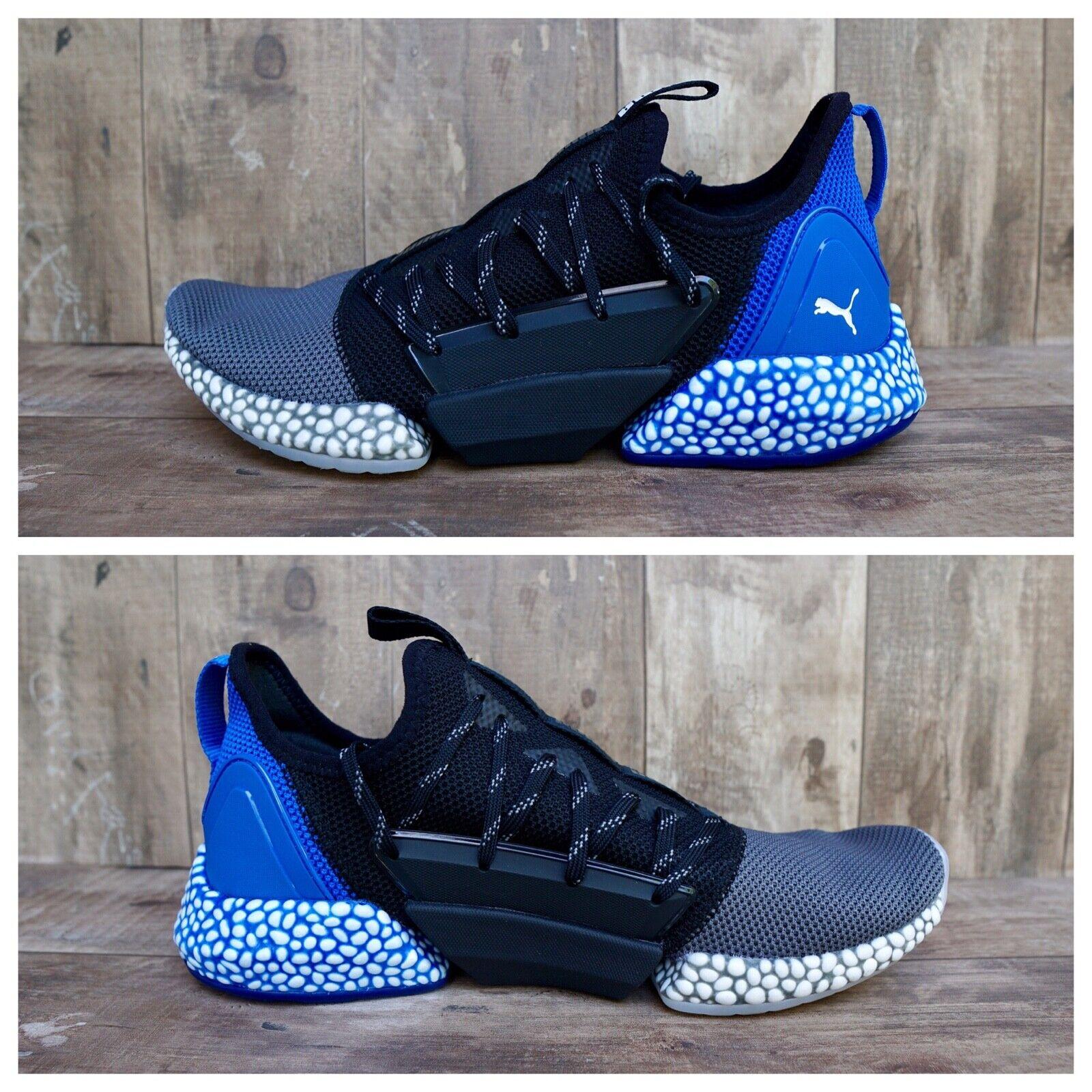 Puma Hybrid Rocket Runners Men's Size 9.5 & 10.5 Black bluee Running shoes