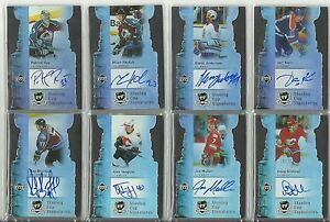 Stanley Cup Signatures Autograph Card #ed / 25 2006-07 UD Upper Deck The Cup