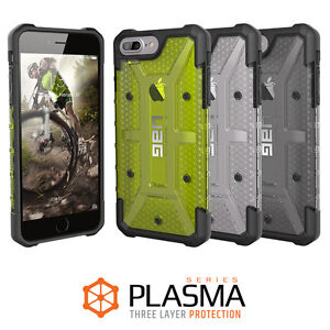 best cheap 0cbae fe7da Details about Urban Armor Gear (UAG) Apple iPhone 8 Plus / 7 Plus Plasma  Military Spec Case