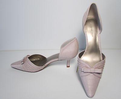Jacques Vert champán Gama Tribunal Zapatos ~ nuevo ~ ~ originalmente £ 95 UK 6 y 7 (MB)