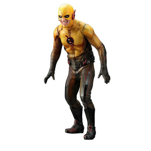 Dc comics - reverse flash - tv - serie ber.artfx + 1   10 pvc figure kotobukiya