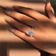 Luxury-Oval-White-Sapphire-925-Silver-Promise-Ring-Wedding-Jewelry-Gift-Size5-11 thumbnail 7